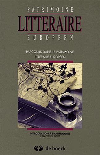 9782804150600: Parcours dans le patrimoine litt�raire europ�en : Introduction � l'anthologie