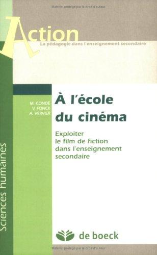 A L ECOLE DU CINEMA: COLLECTIF