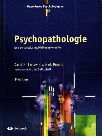9782804153854: psychopathologie une perspective multidimensionnelle