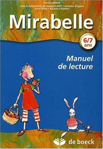 9782804153939: mirabelle - manuel d'apprentissage de la lecture