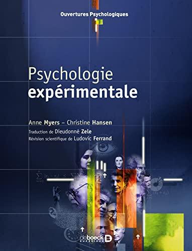 PSYCHOLOGIE EXPERIMENTALE: MYERS 2E ED 2007