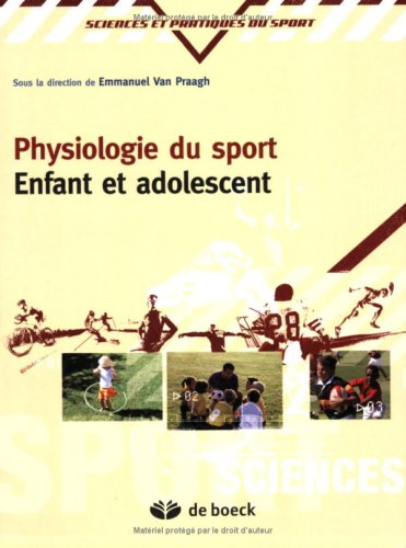 9782804155728: Physiologie du sport : Enfant et adolescent