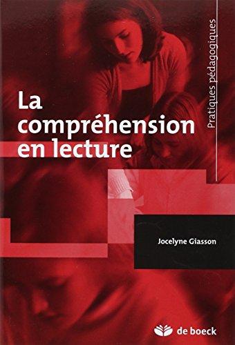 9782804156152: La compréhension en lecture (French Edition)