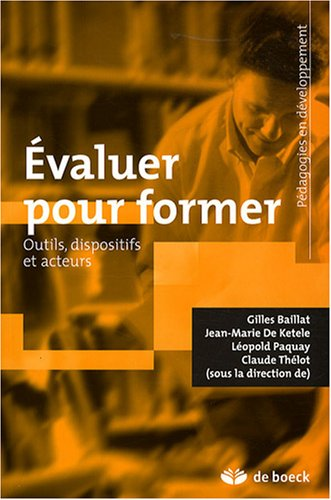 EVALUER POUR FORMER: COLLECTIF 1RE ED 08