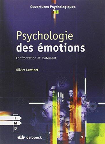 PSYCHOLOGIE DES EMOTIONS: LUMINET 2E ED 2008
