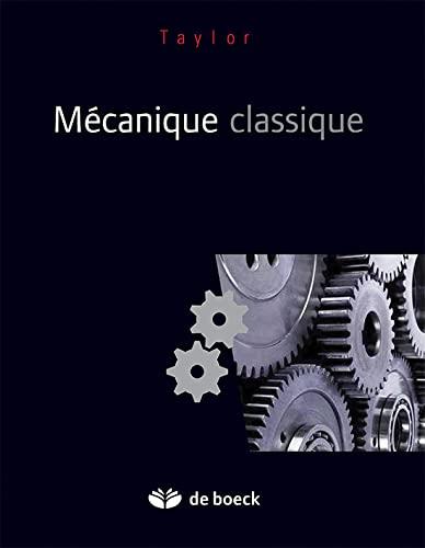 9782804156893: mécanique classique