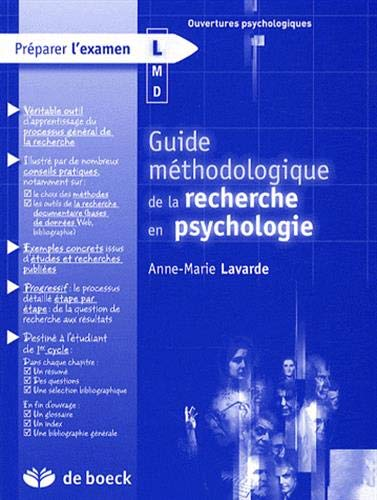 GUIDE METHODO DE LA RECHERCHE EN PSYCHO: LAVARDE 1RE ED 2008