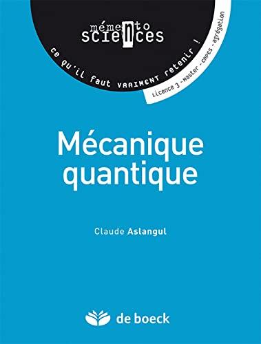 9782804160036: M�canique quantique