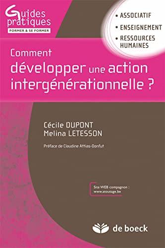 COMMENT DEVELOPPER UNE ACTION INTERGENER: DUPONT LETESSON ED10