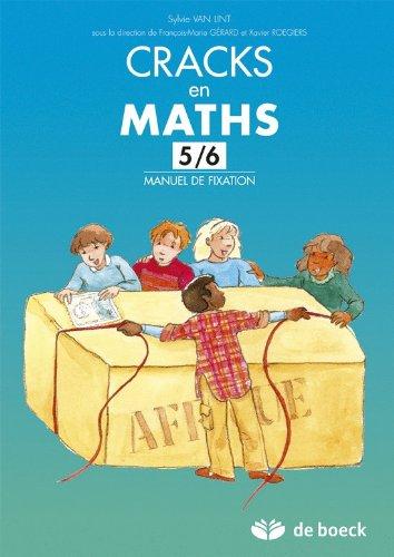 9782804160265: Cracks en maths 56 - manuel de fixation
