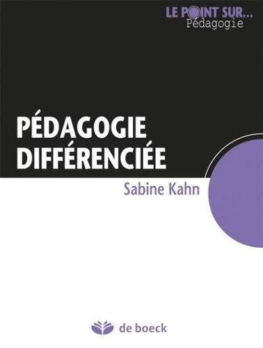 9782804160388: Pédagogie différenciée et inégalités scolaires