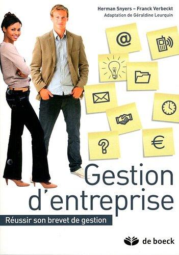 9782804160517: gestion d'entreprise