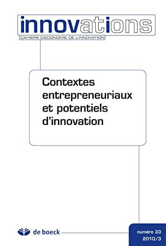 Cahiers d'économie de l'innovation 2010/3 - n.33: Collectif