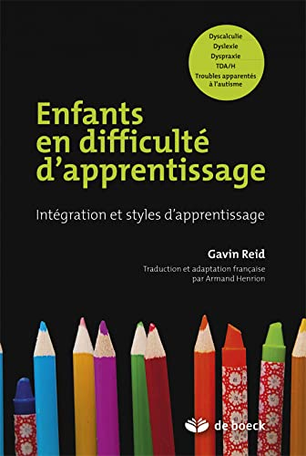 ENFANTS EN DIFFICULTE D APPRENTISSAGE INTEGRATION ET: Reid