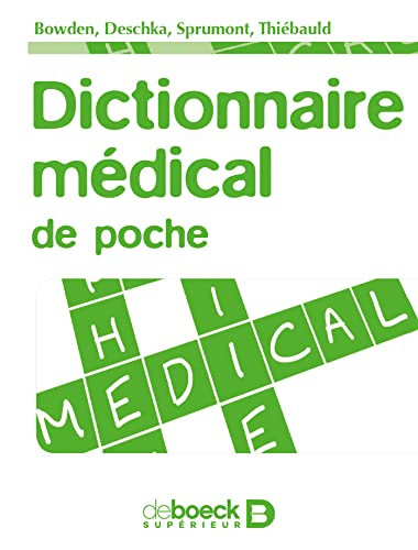 DICTIONNAIRE MEDICAL DE POCHE: COLLECTIF 1RE ED 12