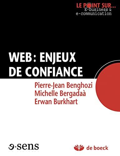WEB ENJEUX DE CONFIANCE 1RE ED 2011: BENGHOZI BERGADAA