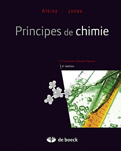 9782804163174: principes de chimie (2e édition)