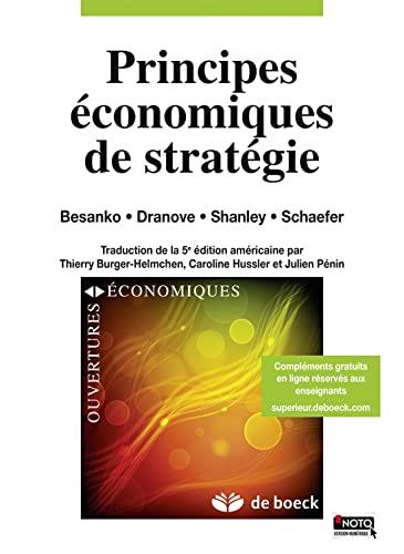 9782804163198: Principes économiques de stratégie (French Edition)