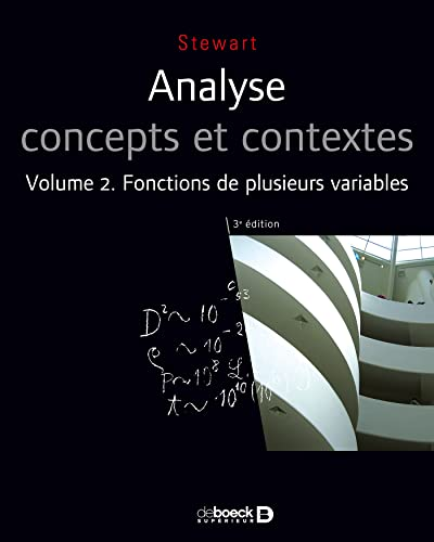 ANALYSE T2 FONCTIONS PLUSIEURS VARIABLES: STEWART 3E ED 2011
