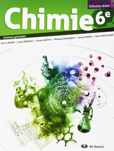 9782804163600: Chimie 6e - 2 Periodes/Semaine - Sciences G�n�rales