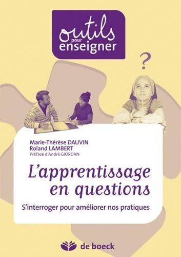 9782804164065: Apprentissage en question