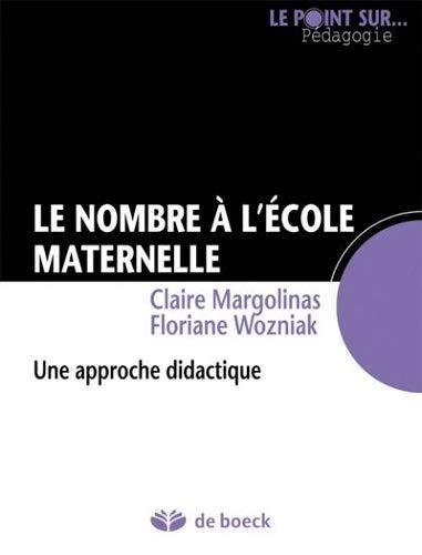 NOMBRE A L ECOLE MATERNELLE ED 2012: MARGOLINAS WOZNIAK