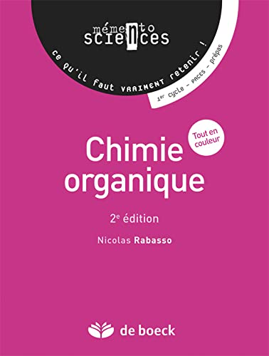 9782804165659: Chimie organique
