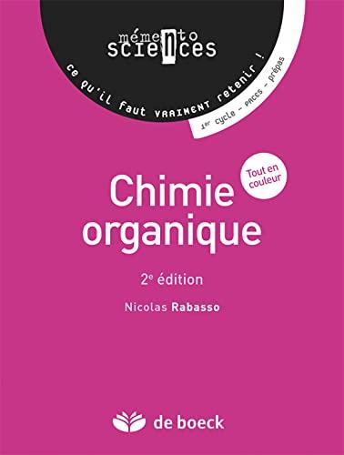 9782804165659: Chimie organique