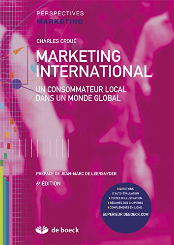 9782804166915: Marketing international : Un consommateur local dans un monde global