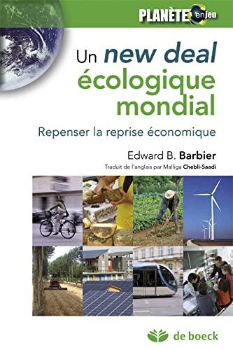 9782804167028: Un New Deal écologique mondial : Repenser la reprise économique