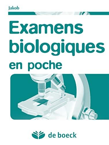 9782804169510: Examens biologiques en poche