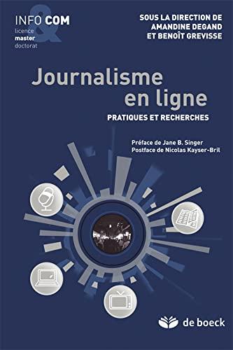 JOURNALISME EN LIGNE 1RE ED 2012: DEGAND GREVISSE