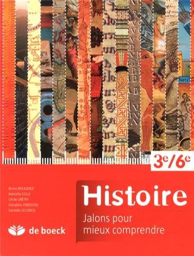 9782804170769: Référentiel d'histoire 3e-6e