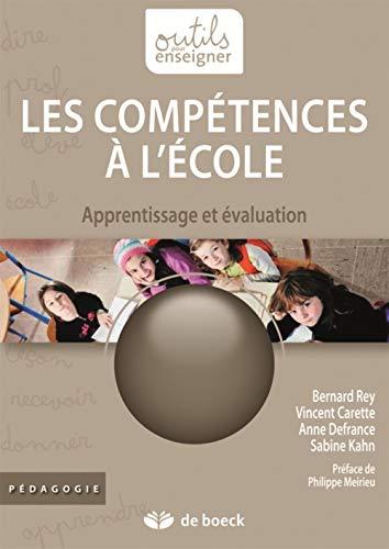 COMPETENCES A L ECOLE -LES-: COLLECTIF 3E ED 2012