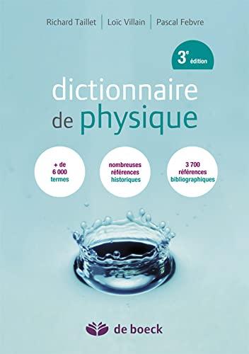 9782804175542: Dictionnaire de physique