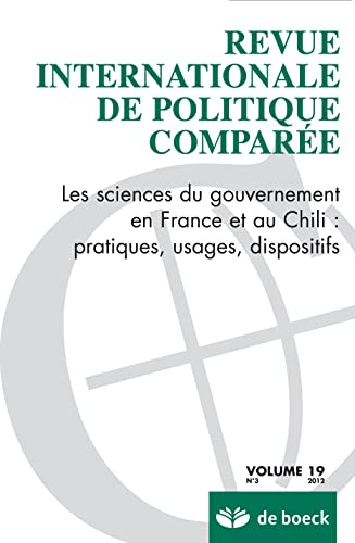 9782804175887: Revue Internationale de Politque Comparée 2012/3