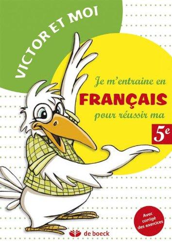 JE M ENTRAINE EN FRANCAIS REUSSIR MA 5E: PIROTTE 1RE ED 2013
