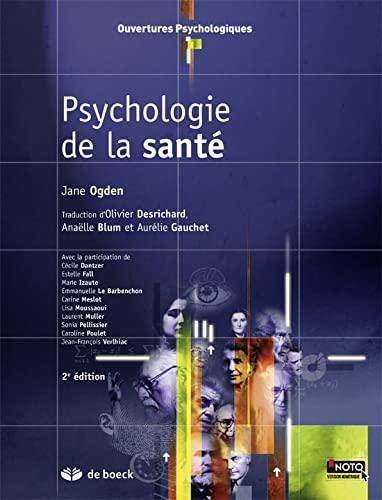 9782804182427: Psychologie de la Sante