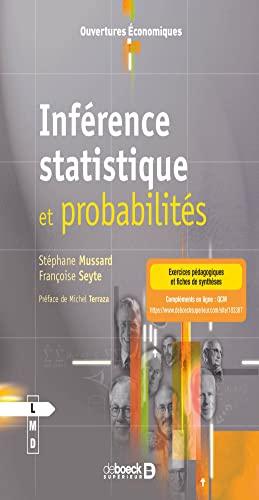 9782804183387: Inf�rence Statistique et Probabilit�s
