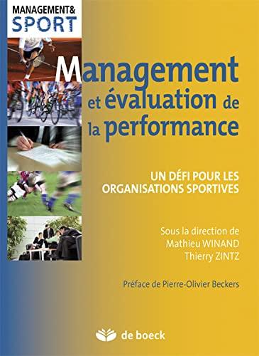 MANAGEMENT ET EVALUATION DE LA PERFORMAN: WINAND 1RE ED 2014
