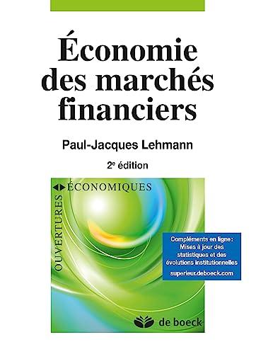 9782804187019: Economie des marchés financiers