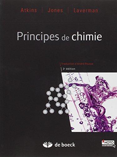 9782804187316: Principes de Chimie