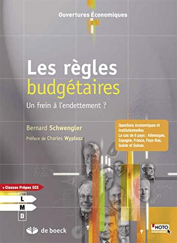 REGLES BUDGETAIRES FREIN A L ENDETTEMENT: SCHWENGLER 1RE ED 14