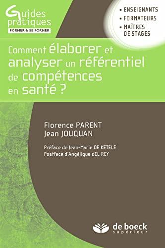 COMMENT ELABORER ET ANALYSE UN REFERENTI: PARENT JOUQUAN