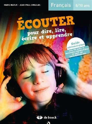 ECOUTER DIRE LIRE ECRIRE CREER 8-10ANS: GUIDE+CD+DOCS ED2016