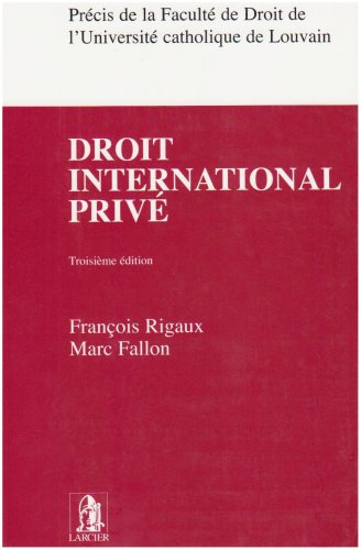 9782804419882: Droit international privé
