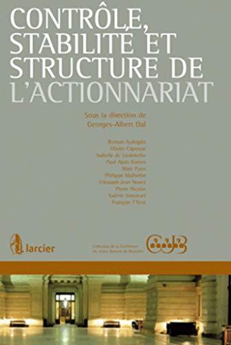 contrôle, stabilité et structure de l'actionnariat