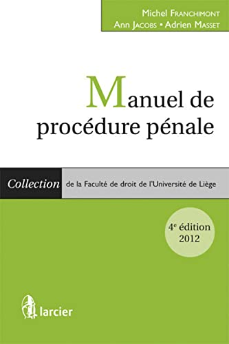 manuel de procedure penale