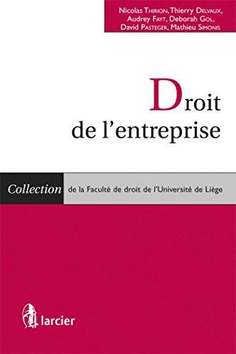 Droit de l'entreprise: Nicolas Thirion