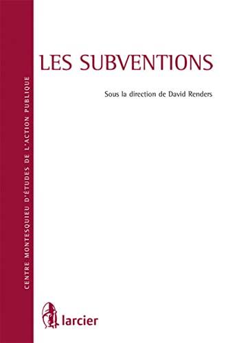 les subventions: David Renders